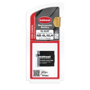 Replacement Battery for Canon NB-6L